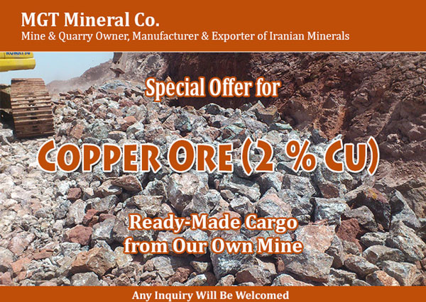Iran Copper Ore